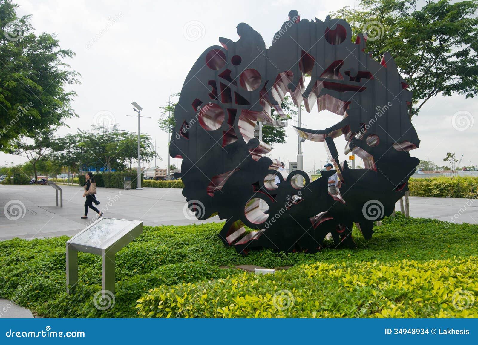 Urban Landscape Of Singapore Editorial Stock Image Image
