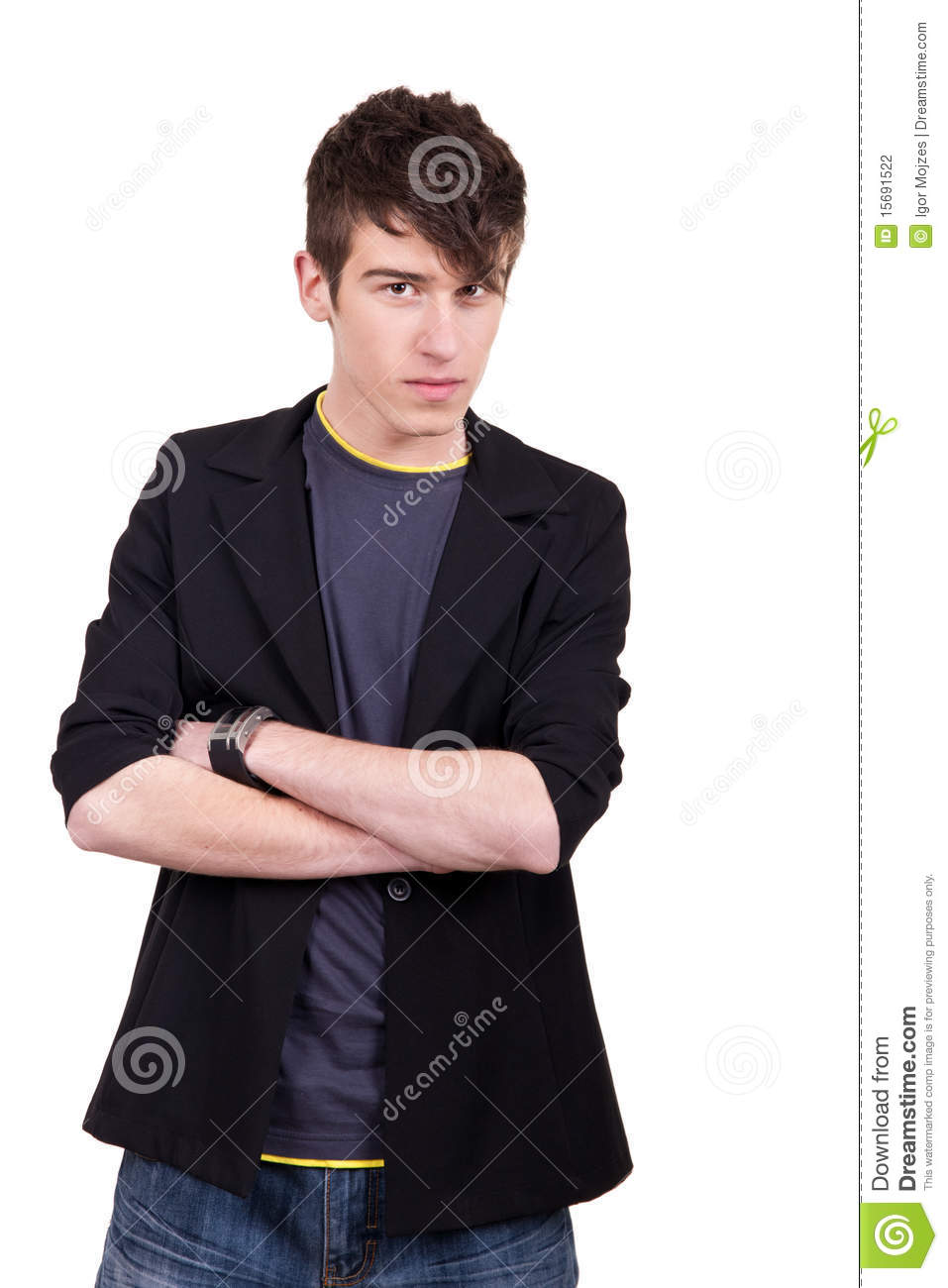 Urban Male Teenager Stock Photography