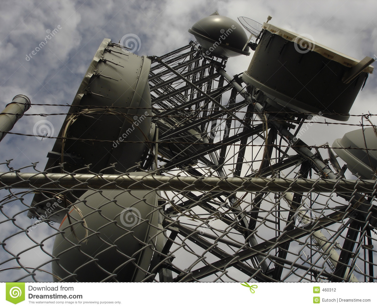 Download Urban Microwave stock photo. Image of photo, tower, broadcast - 460312