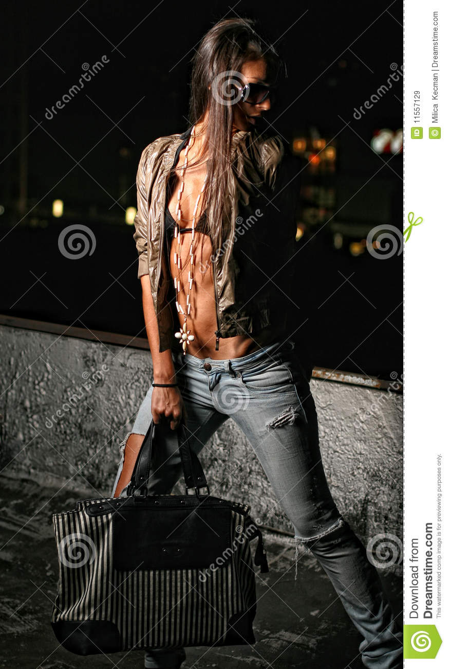 Urban R B Fashion Girl Royalty Free Stock Images Image 11557129