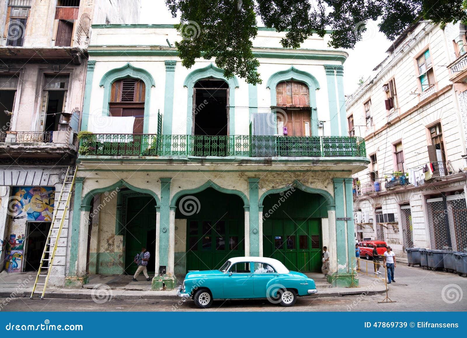 Urban Street Scene, Havana, Cuba Editorial Stock Image ...