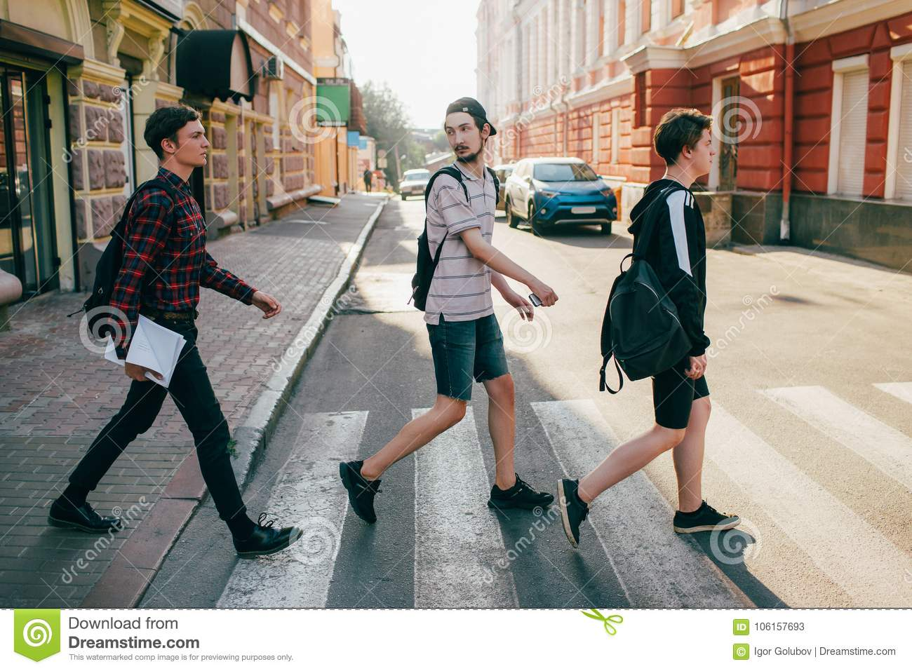 Teenage and street