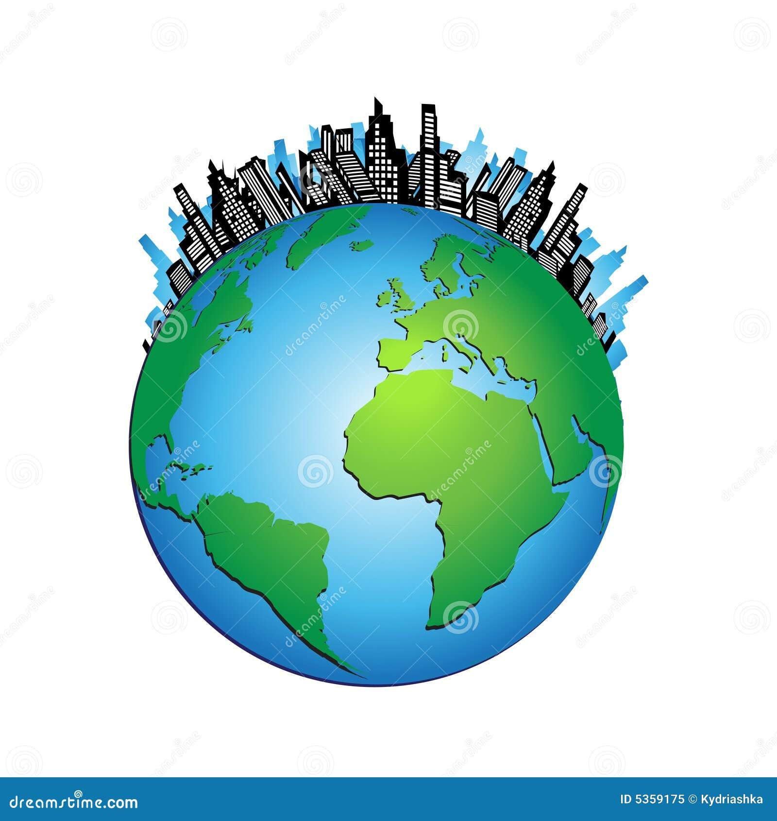 Urban World Royalty Free Stock Photo