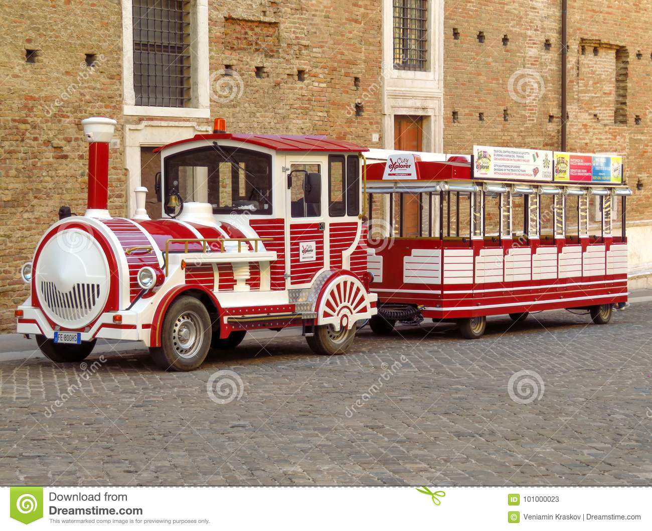 Urbino - Funny Steam Locomotive Editorial Stock Photo - Image of ...