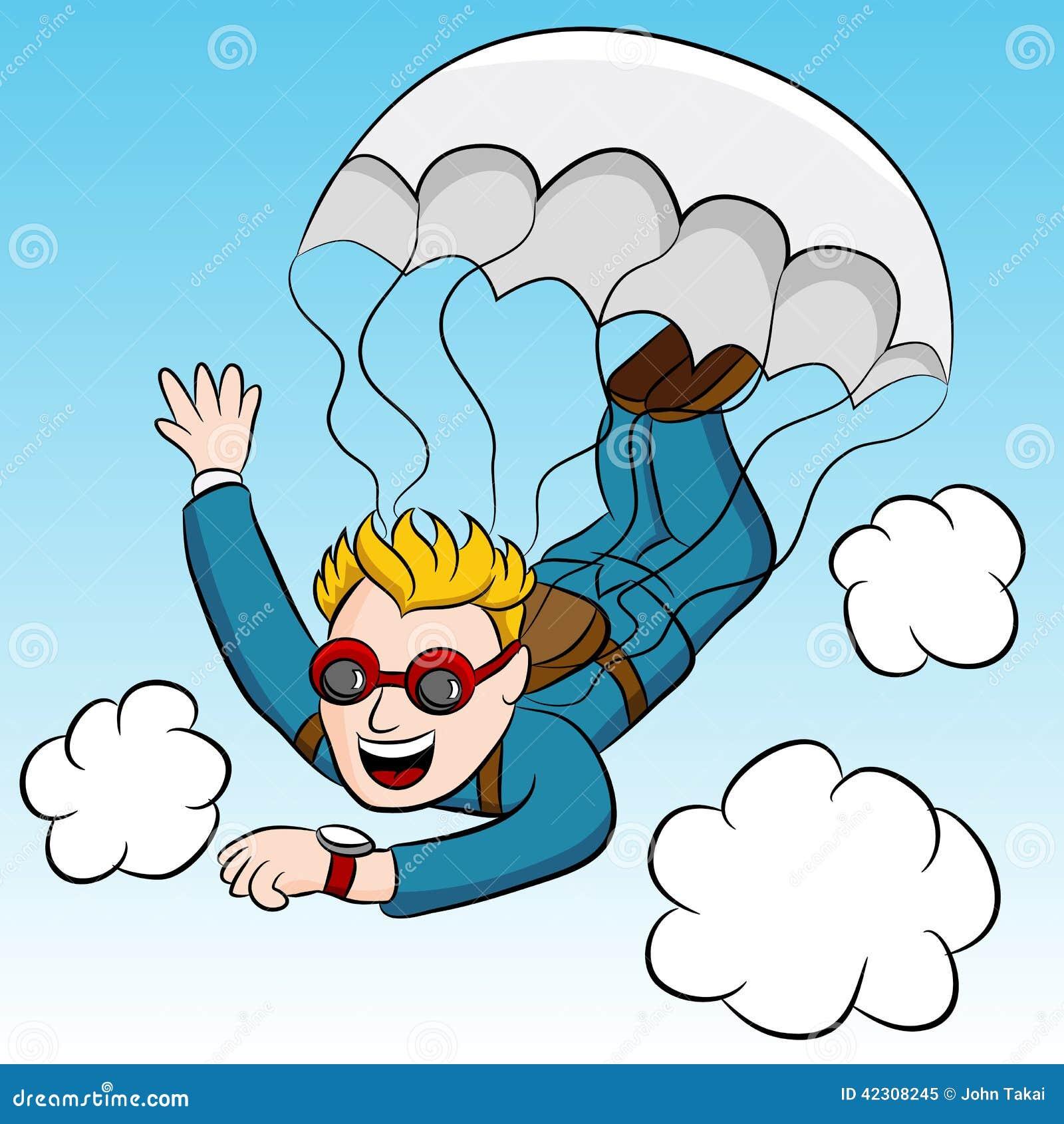Urgent Meeting Skydiver