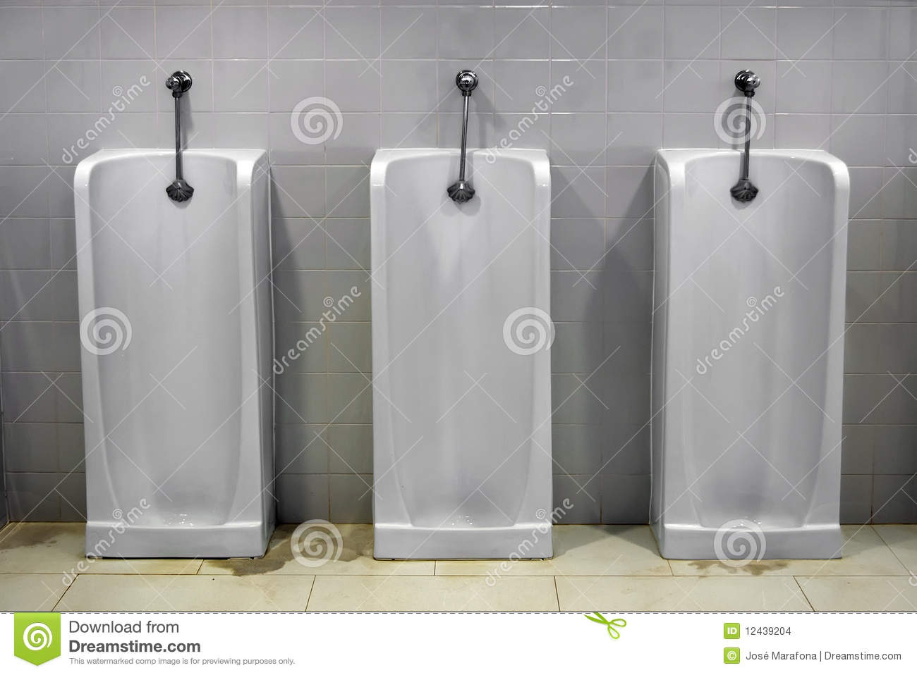 Urinals Stock Images Image 12439204