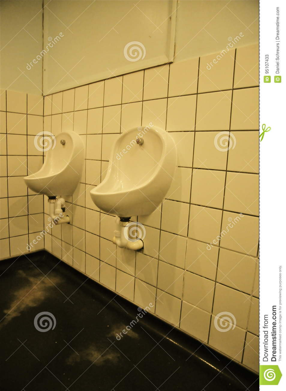 Urinals; Abbey Road Studios, London Stock Image - Image of color ...