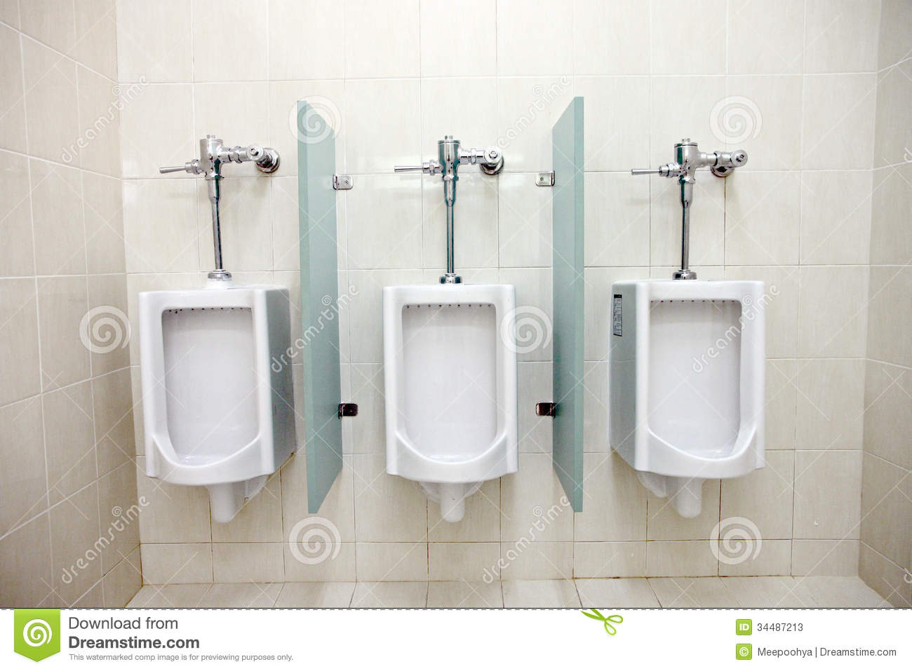 Urinals in men s bathrooms. Urinals In Men  39 s Bathrooms  Stock Photos   Image  34487213