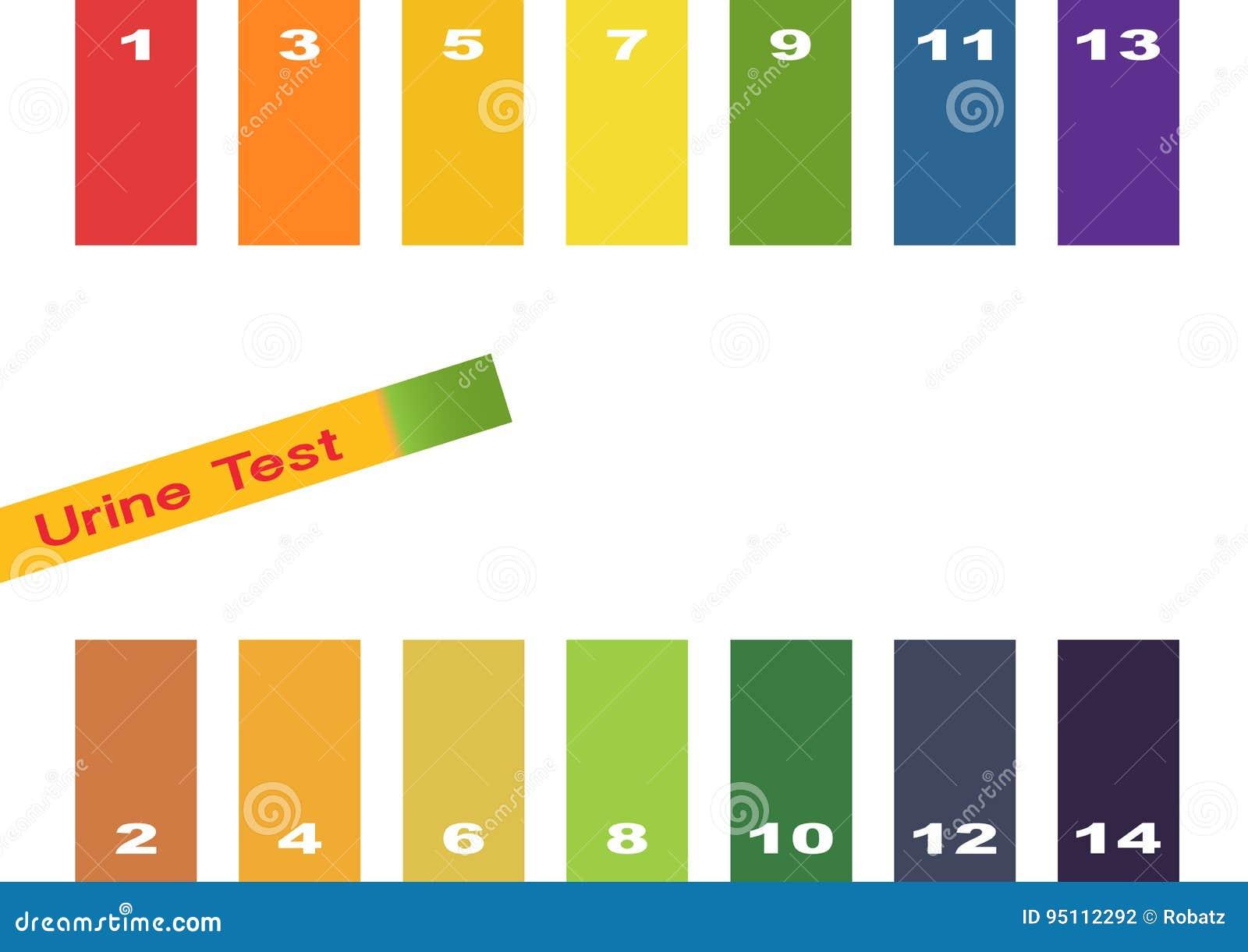 Ph scale litmus paper color chart vector illustration ph scale litmus paper color chart vector illustration cartoondealer 80714662 nvjuhfo Images