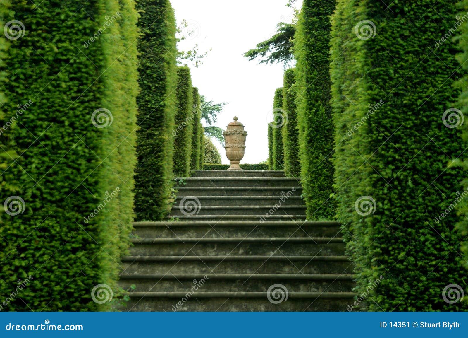 Urn do jardim