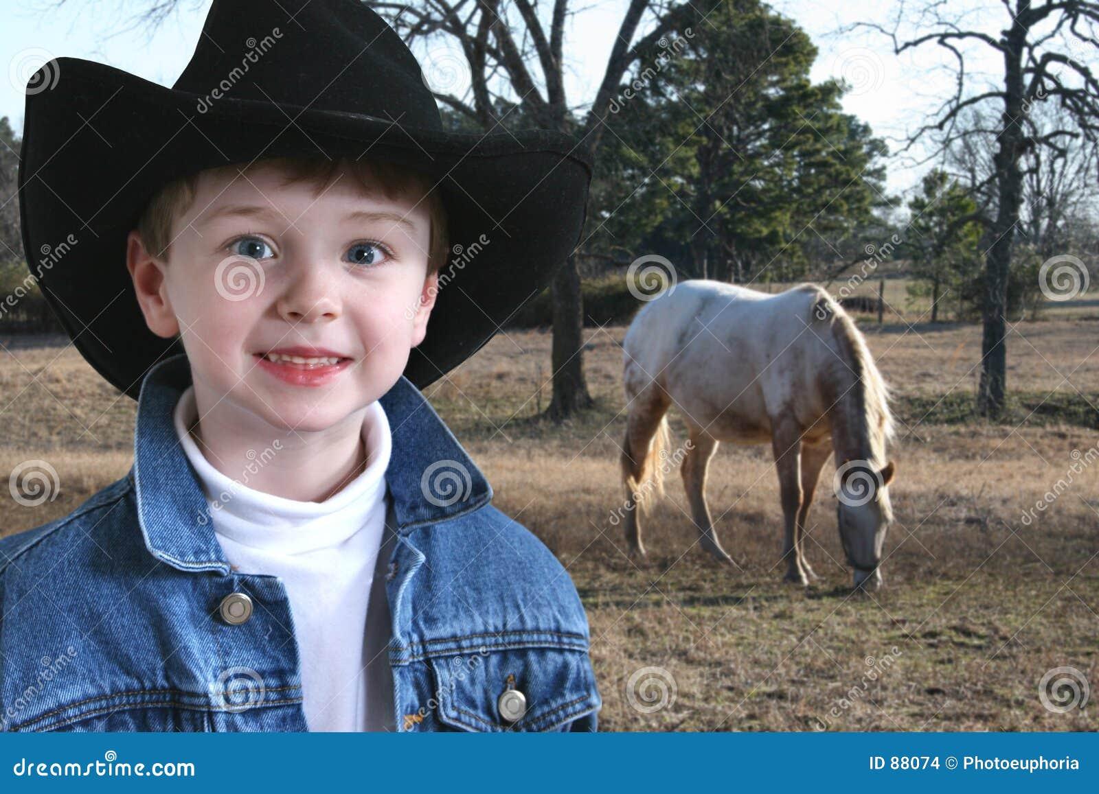 Urocze cztery lata kowboja stary