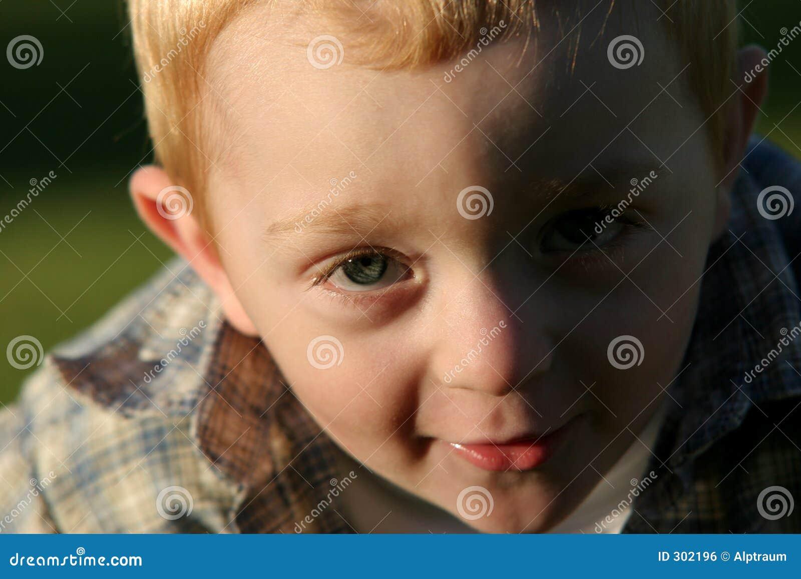 Urocze dzieci rudą young