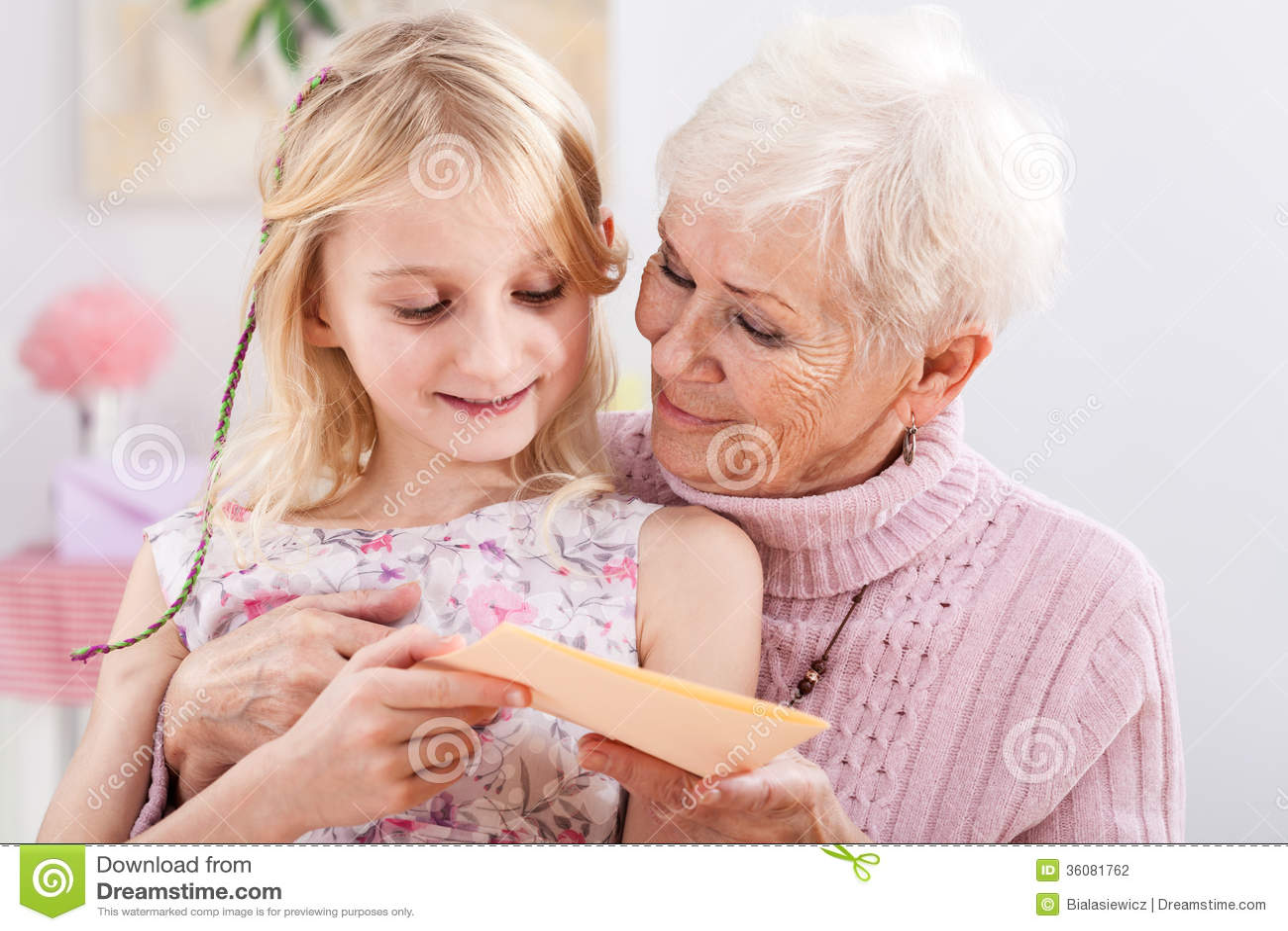 Urodzinowa karta dla babci