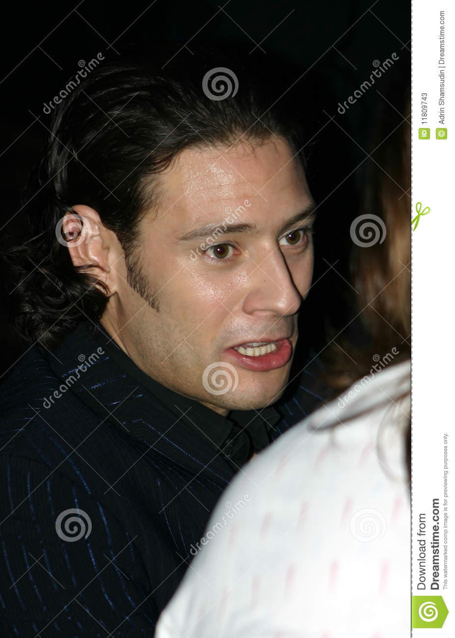 urs buhler of il divo editorial stock photo image of buhler 11809743
