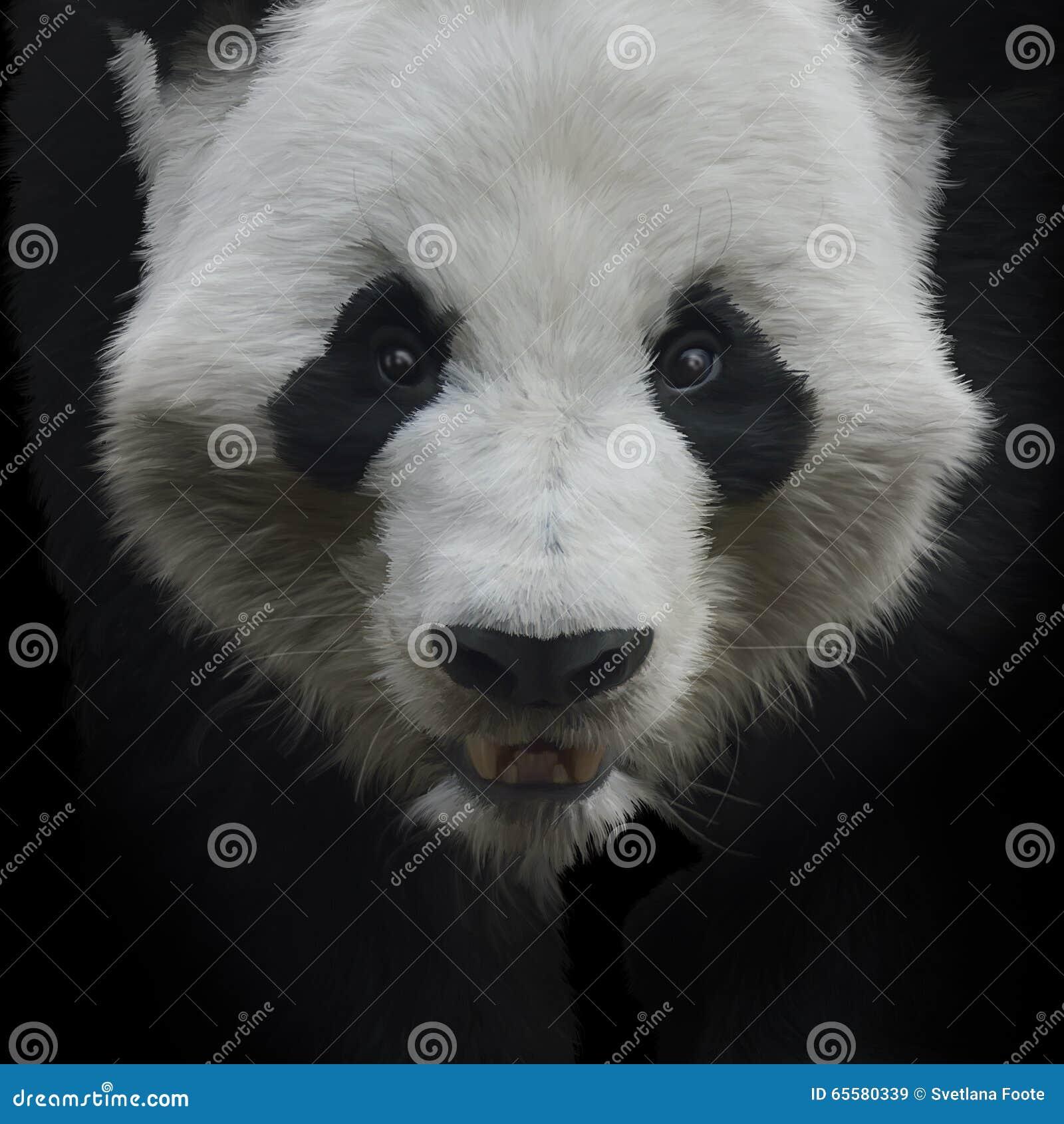 Urso de panda gigante