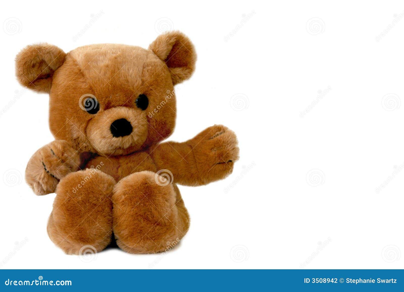 Urso de peluche marrom grande