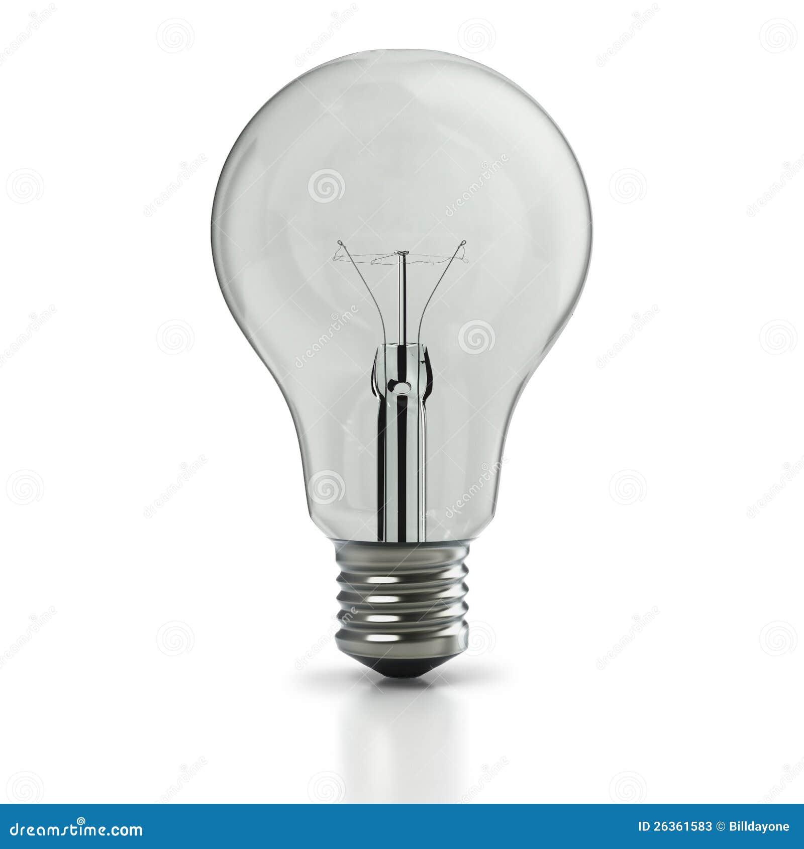Ursprüngliche weißglühende Glühlampe