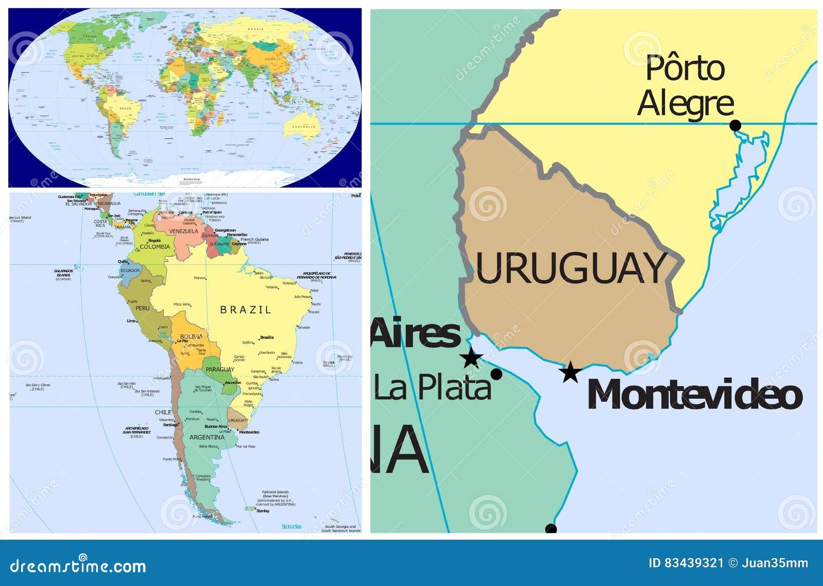 Uruguay World Stock Illustration Illustration Of Congo 83439321