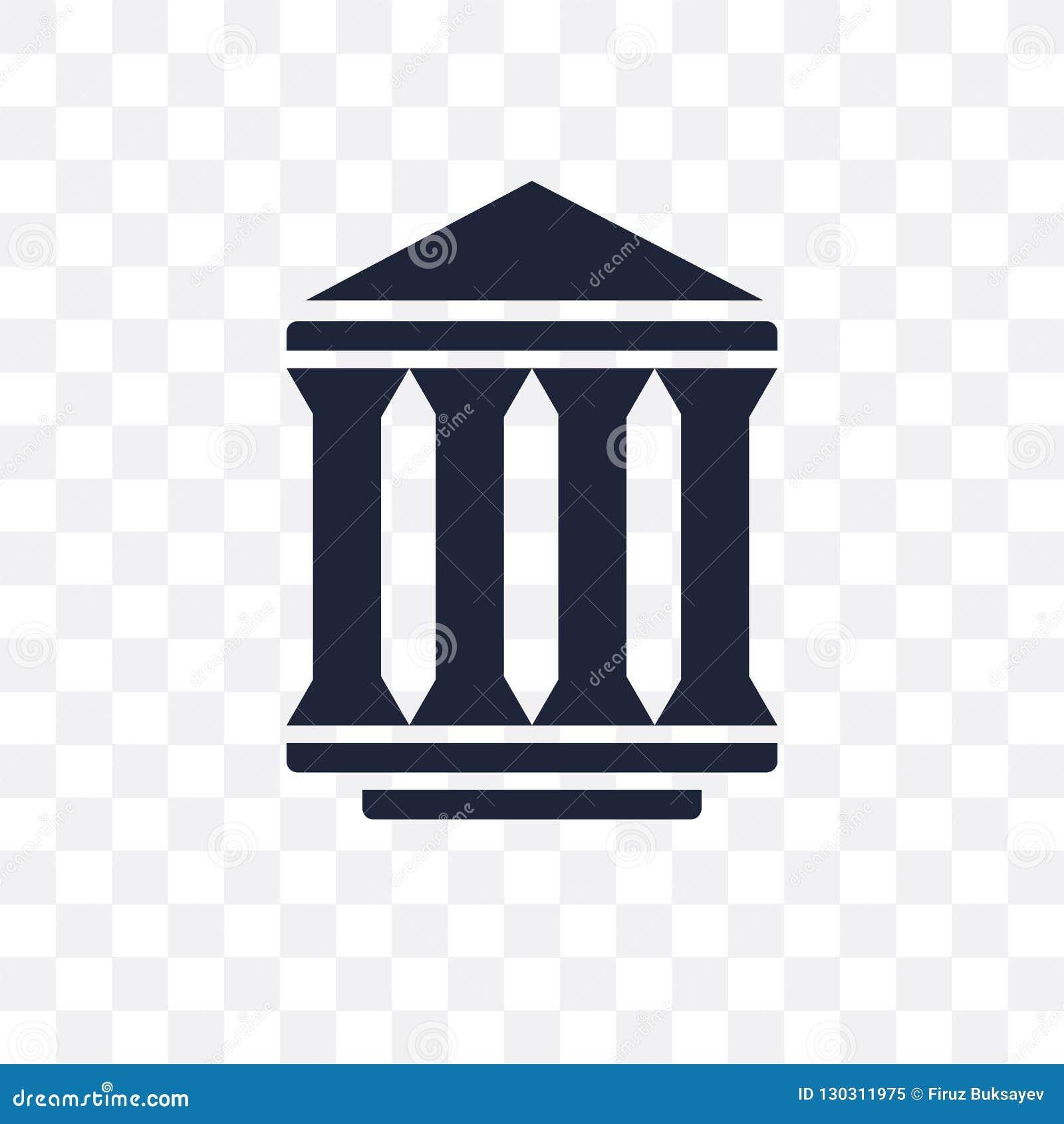 Urząd federalny przejrzysta ikona urzędu federalnego symbolu projekt fr