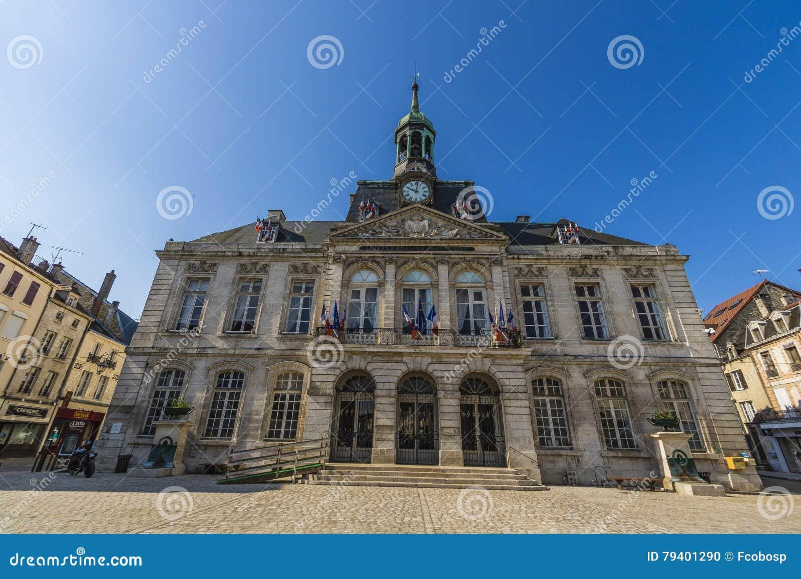 Urząd miasta Chaumont, Marne, Francja