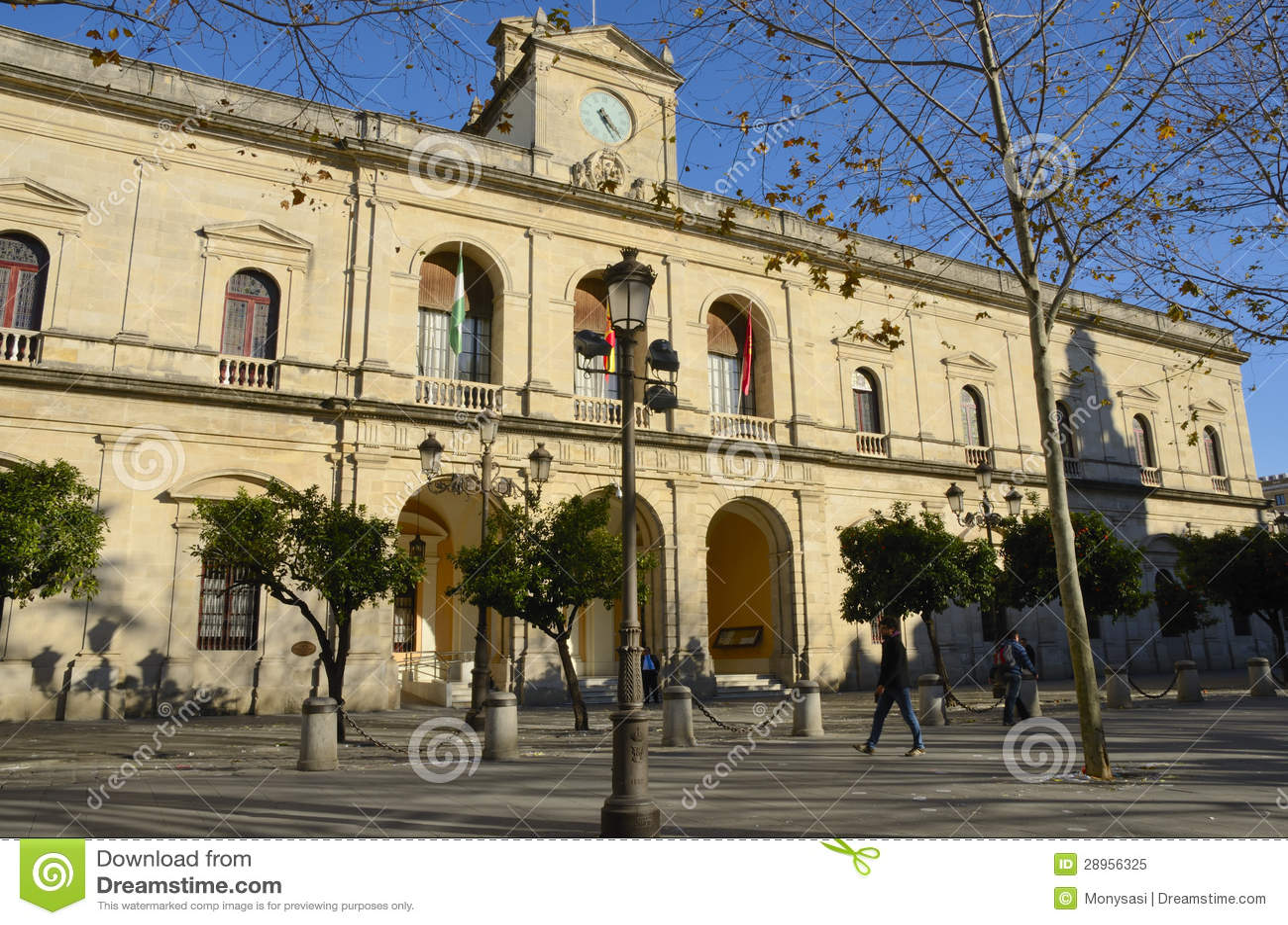 Urząd miasta przy Seville (Hiszpania)