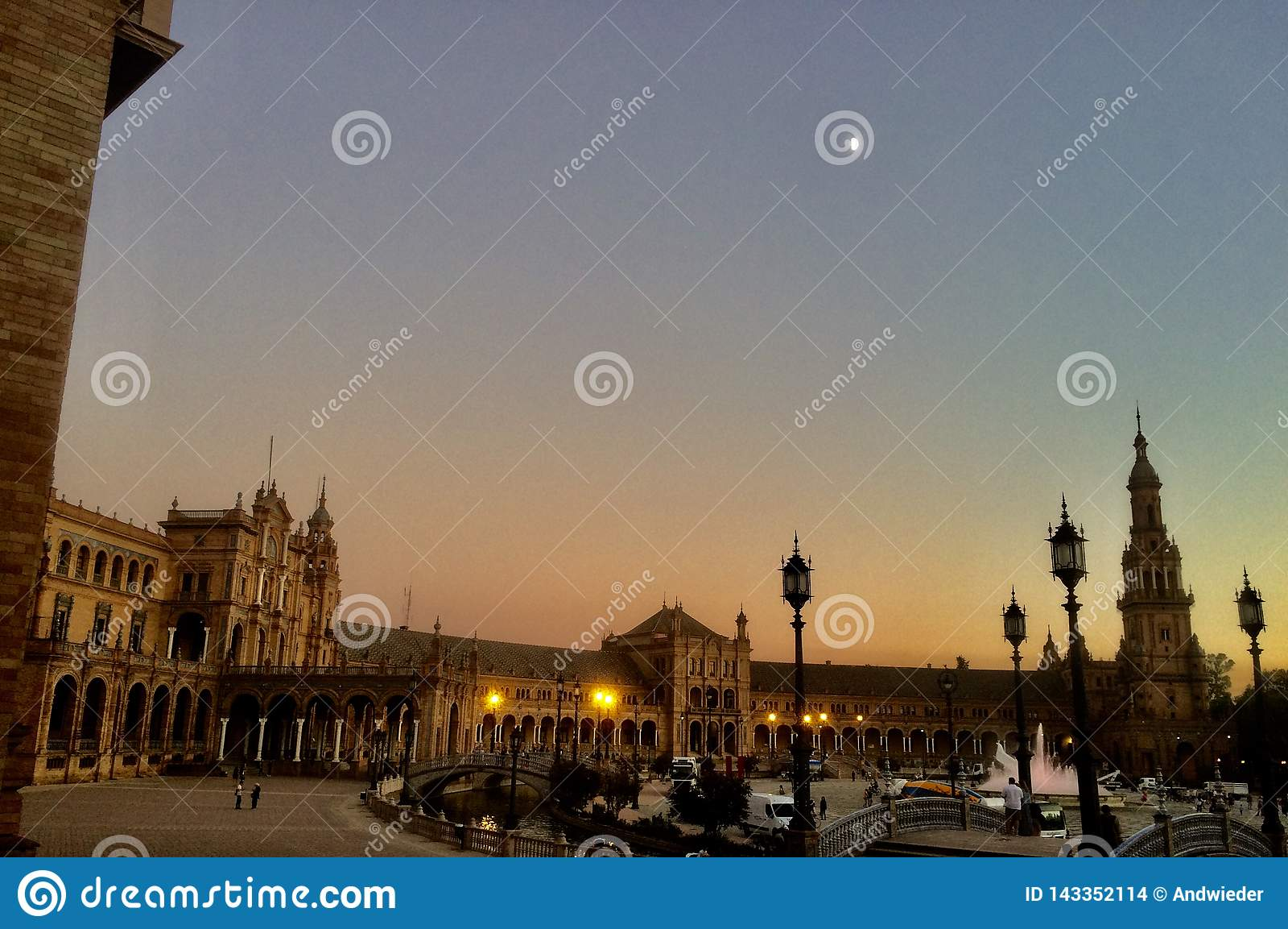 Urząd Miasta Seville, Andalusia, Hiszpania