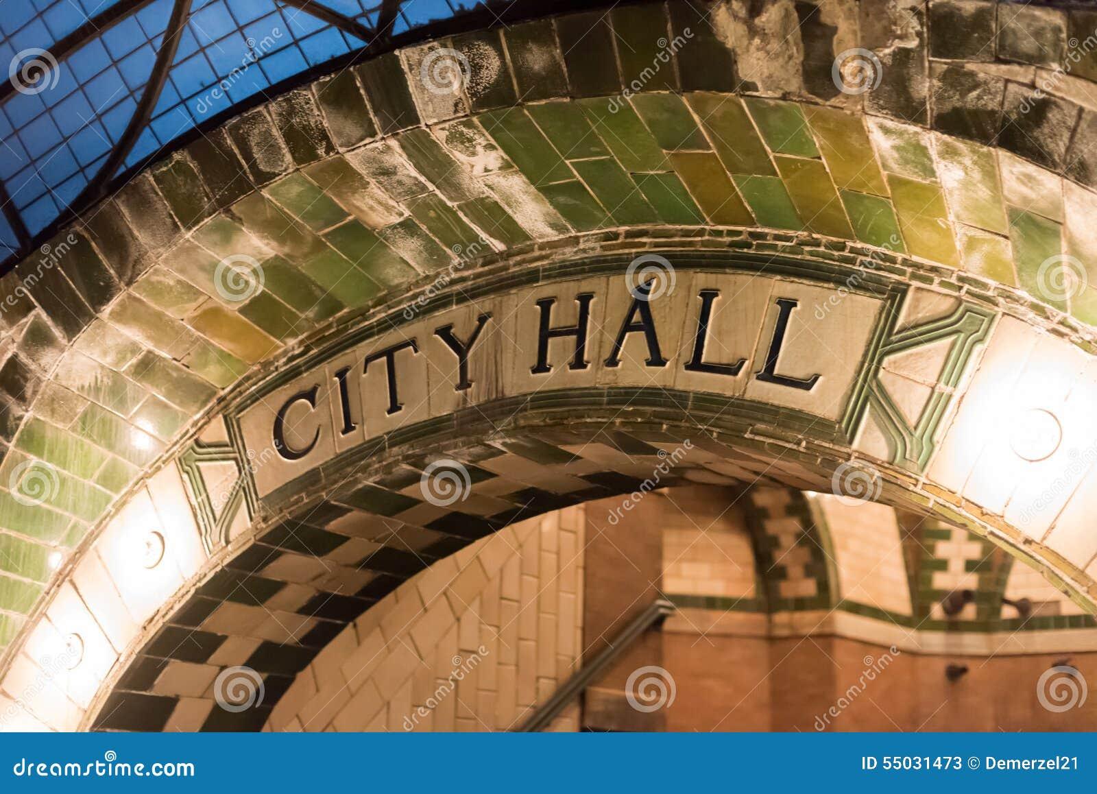 Urząd Miasta stacja - Miasto Nowy Jork
