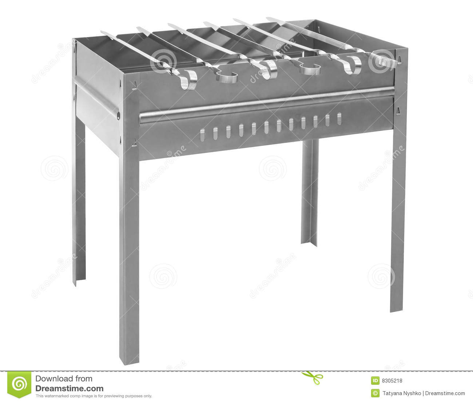 Urządzenia grilla skewer