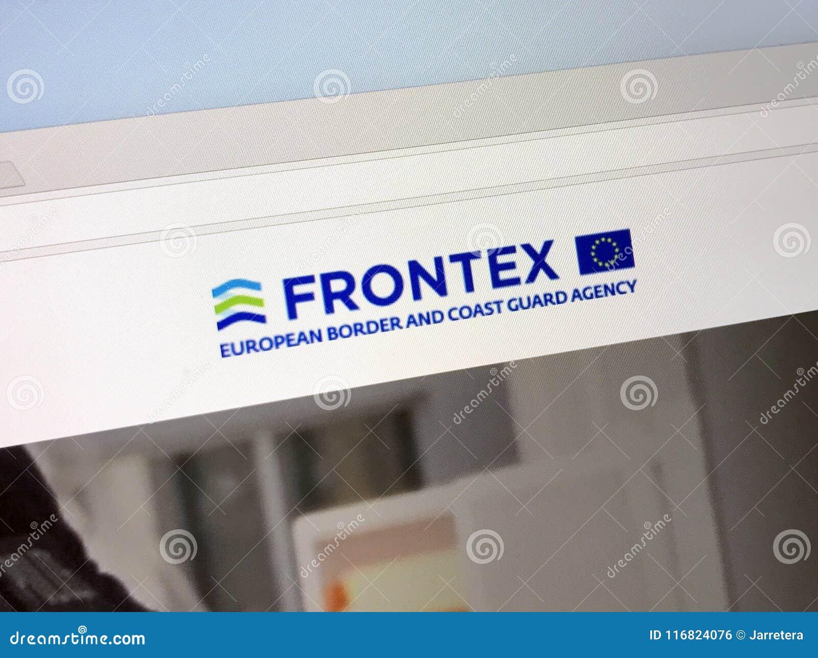 Urzędnika homepage granica Europejska straży przybrzeżnej agencja i - Frontex