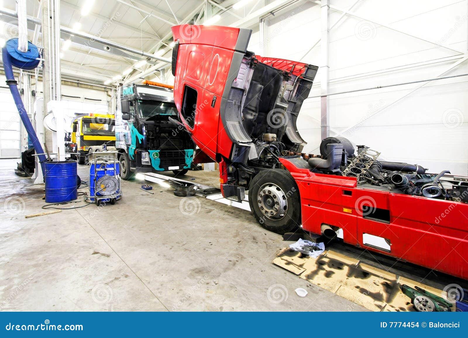 Usługowa ciężarówka
