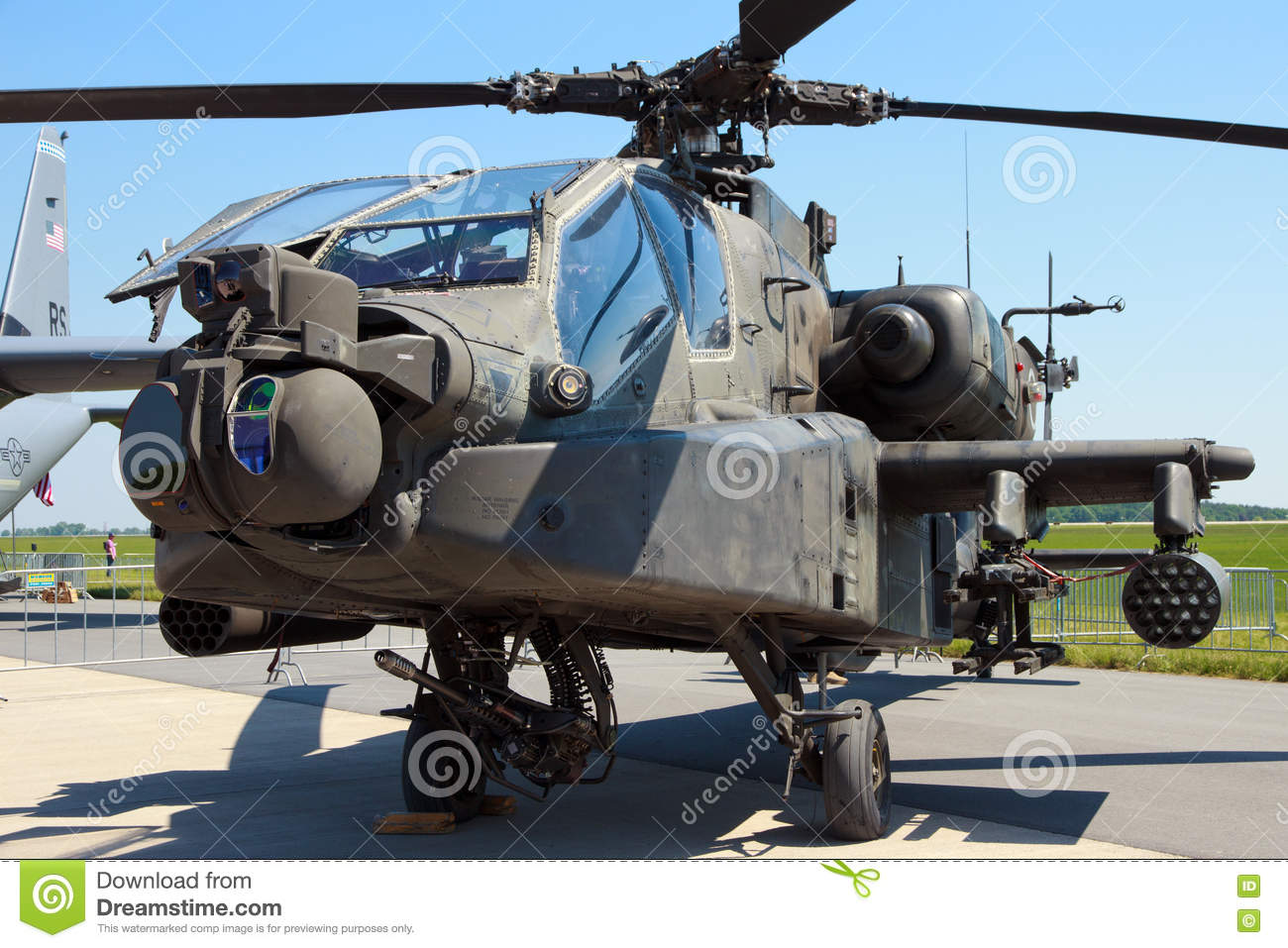 us army boeing ah 64d apache longbow editorial stock image image 81669204. Black Bedroom Furniture Sets. Home Design Ideas