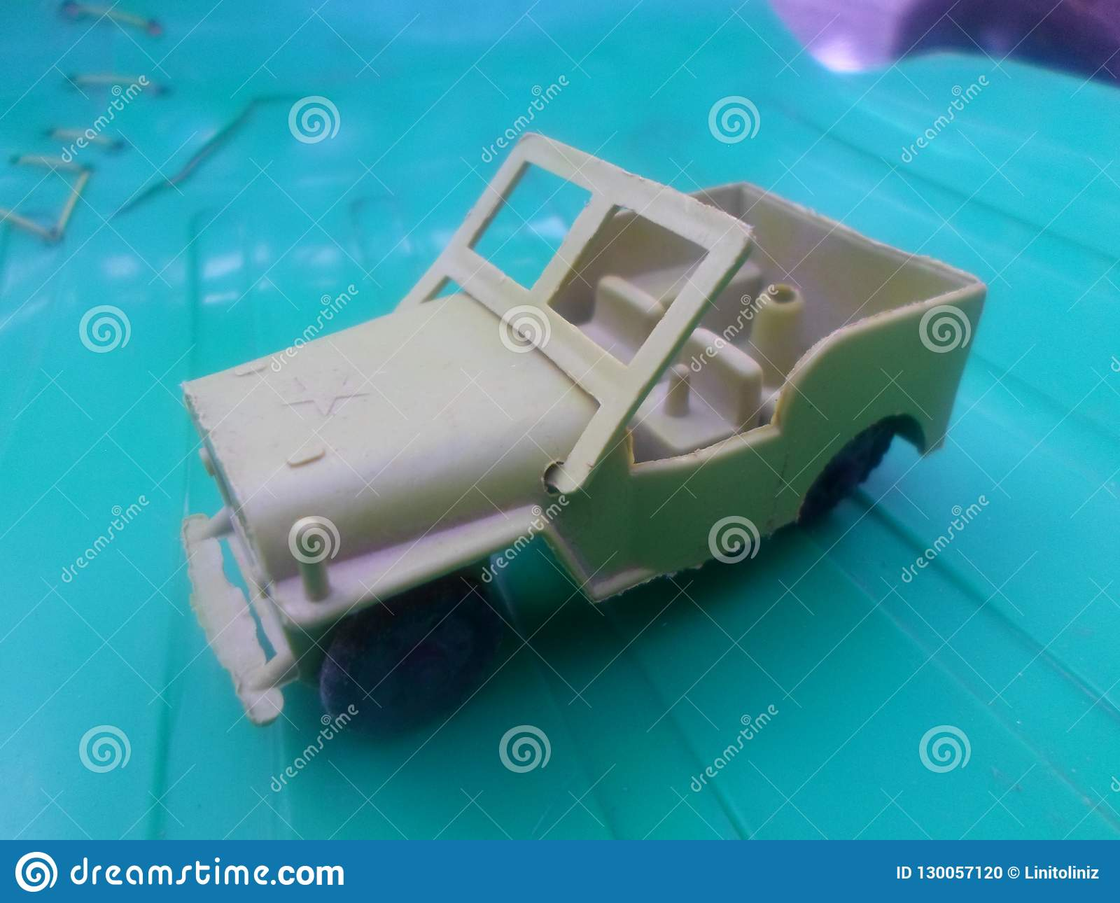 The Us Army Jeep Build Stock Photo Image Of Army Brown 130057120