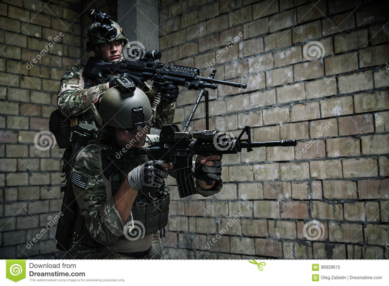 us army rangers on mission stock image image of backup 86928615
