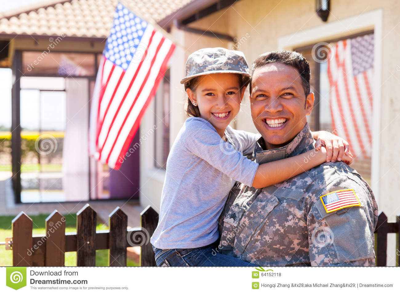 Us army soldier daughter