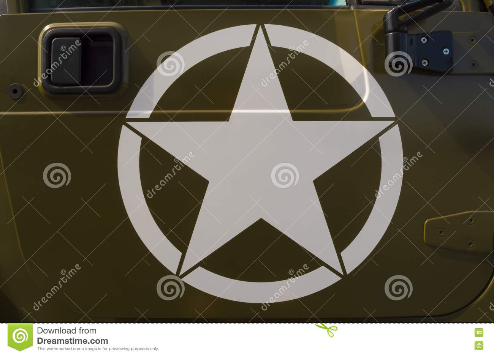 US Army Symbol stock photo  Image of military, vehicle