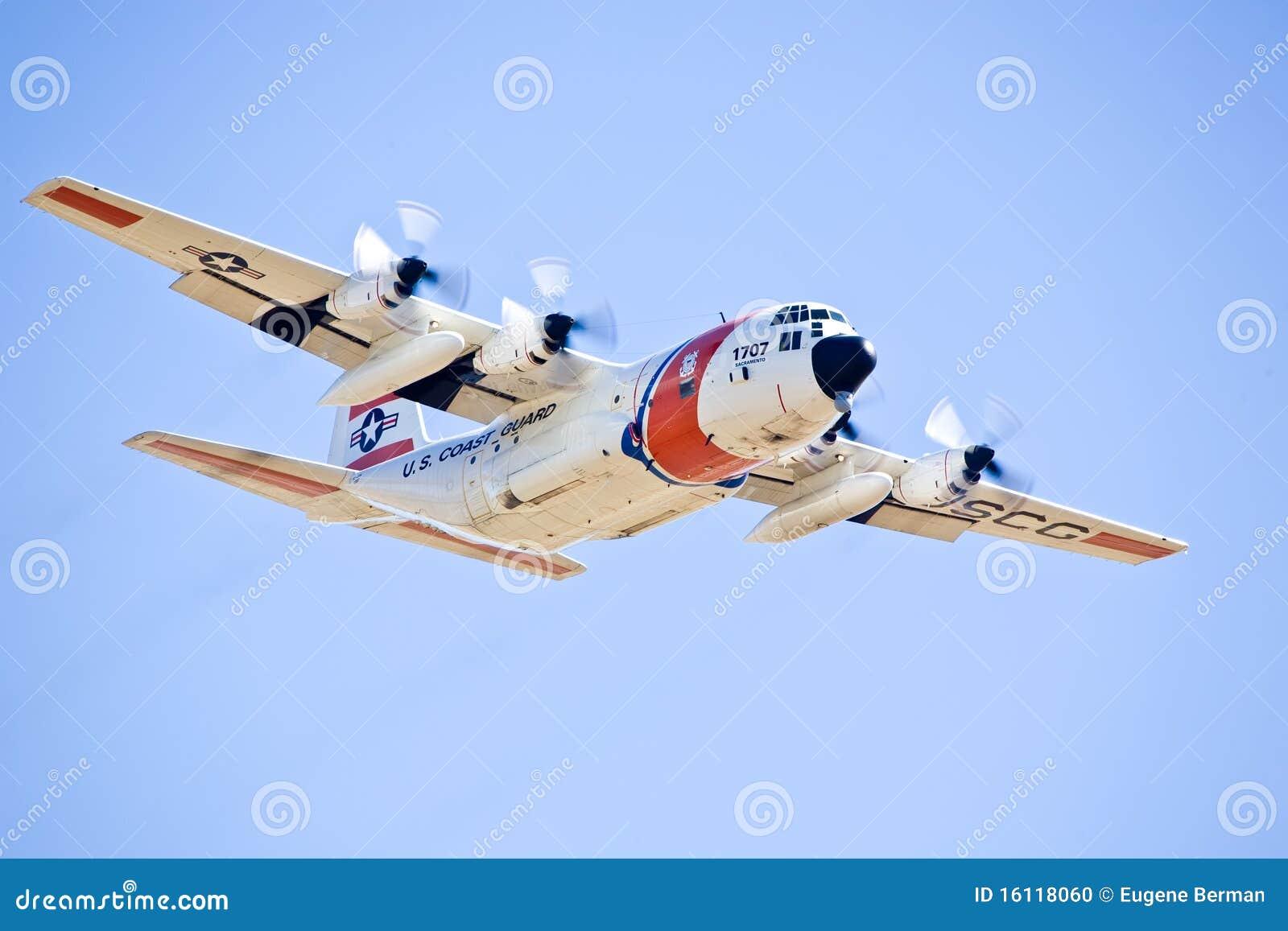 Premier Designs California Capital Airshow: US Coast Guard C-130 Hercules Editorial Image