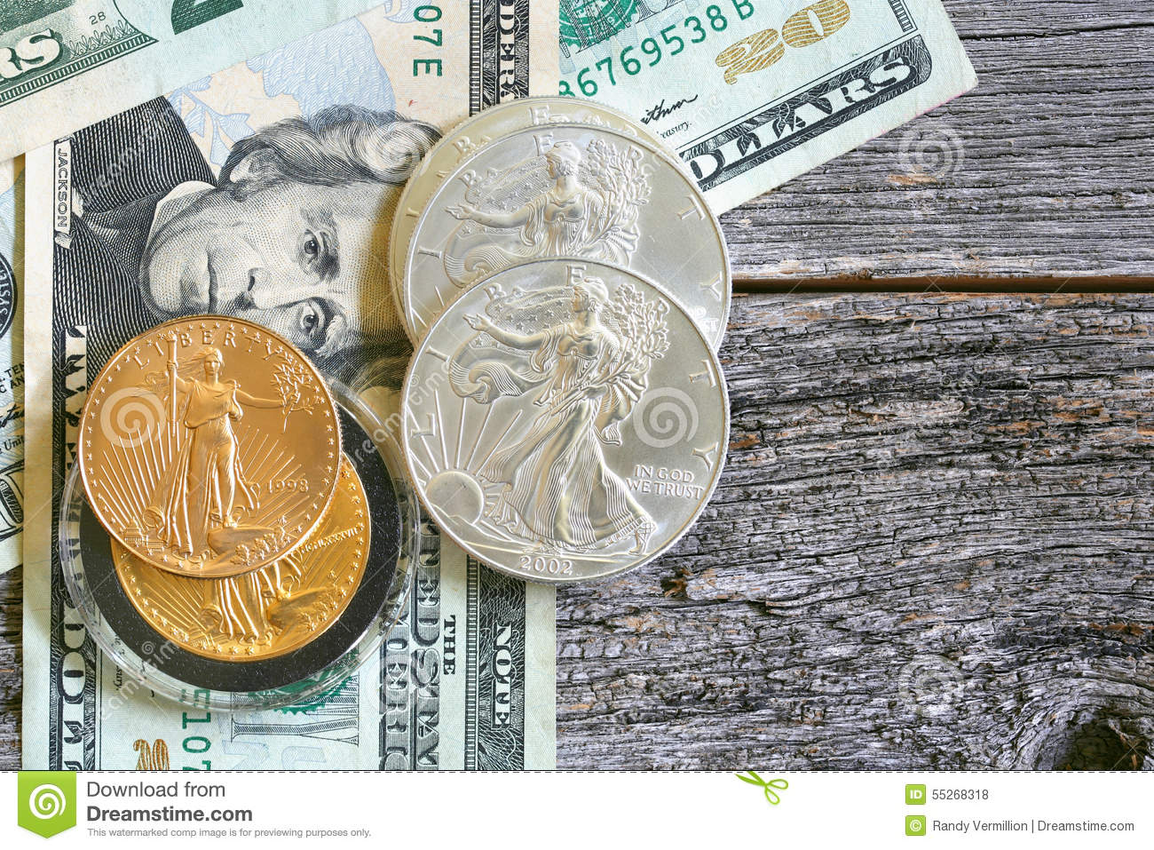 US Money: Paper Dollars and Coins
