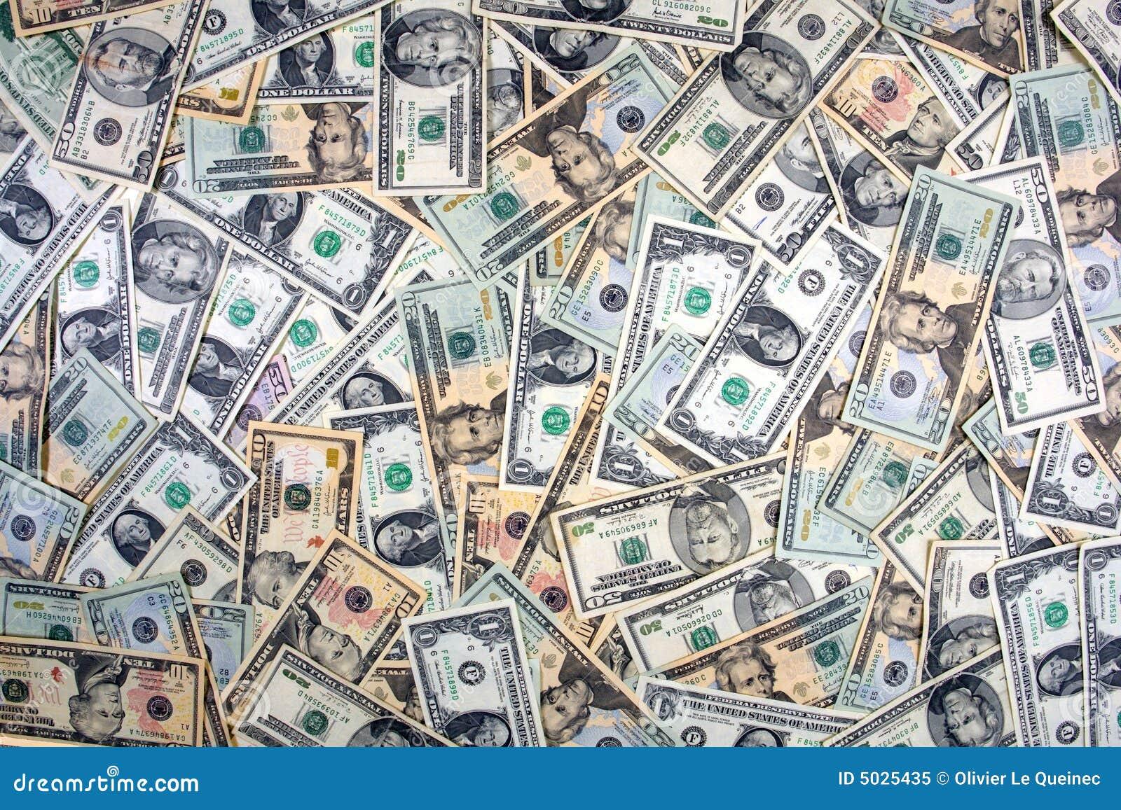 US Dollar Cash Money Cover Background