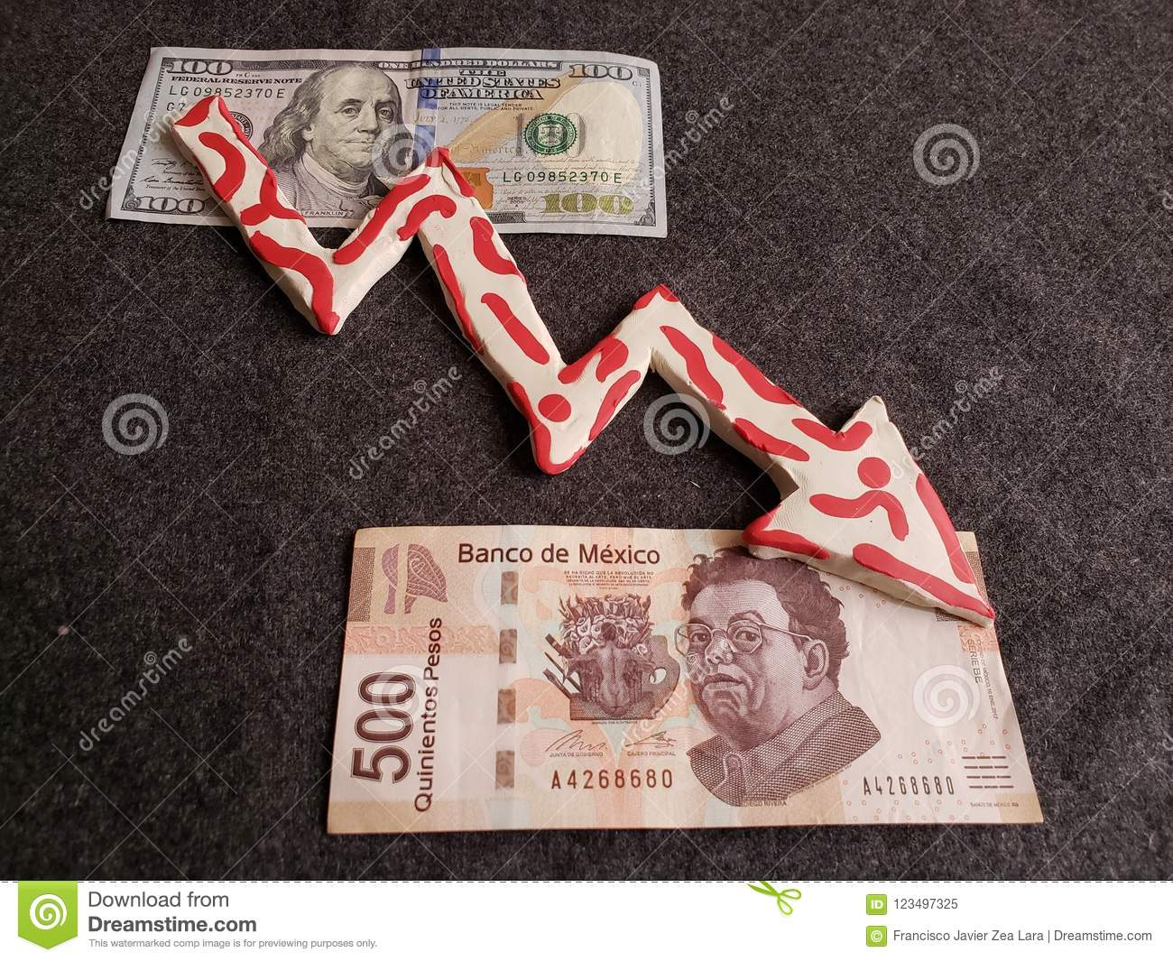 Backdrop For Announcements Of Trading And Exchange Bank And Commerce Background With Cash And Money Economy And Currency Paper