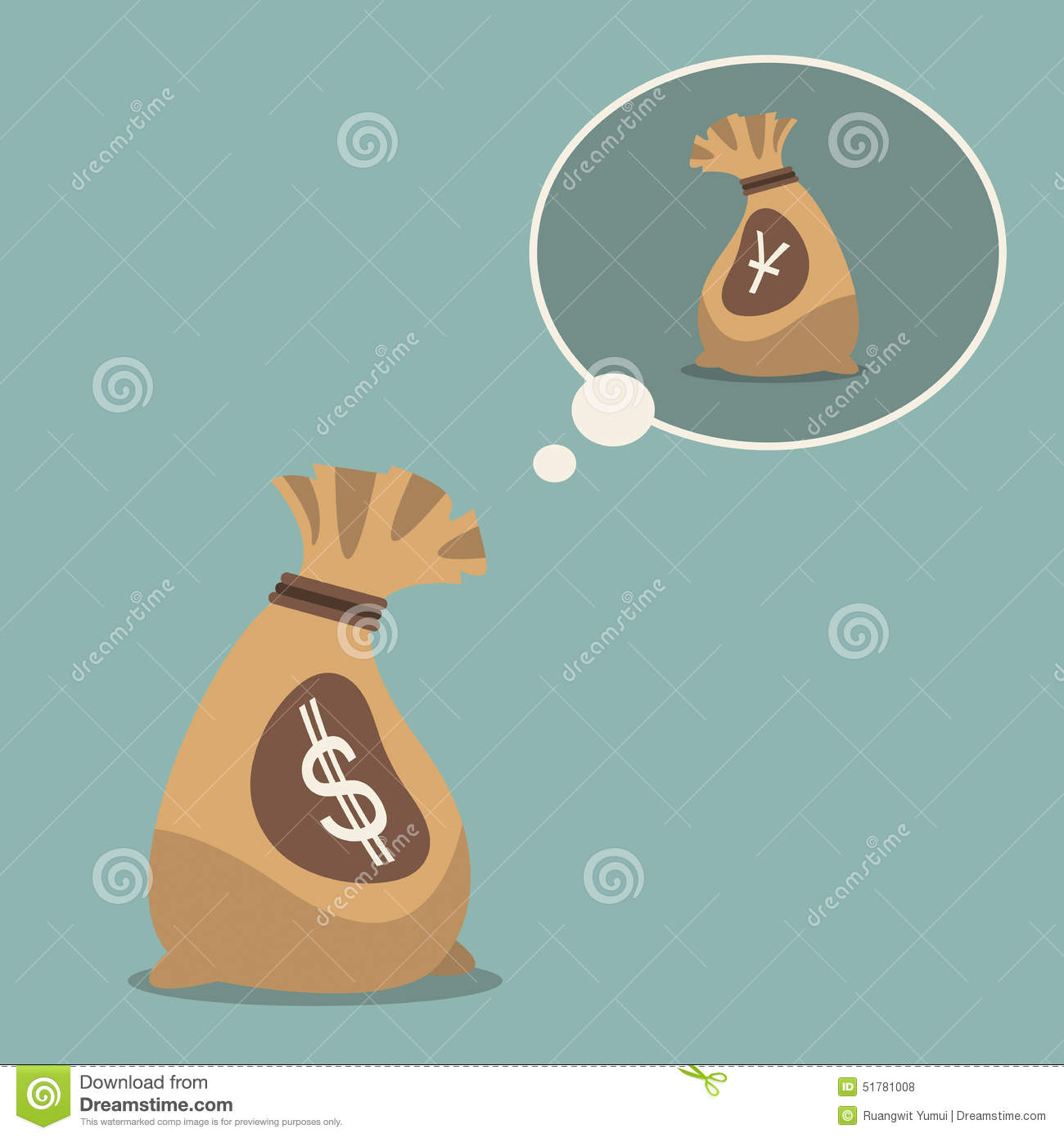 Us dollar dream to chinese yuan currency symbol in flat design us dollar dream to chinese yuan currency symbol in flat design biocorpaavc