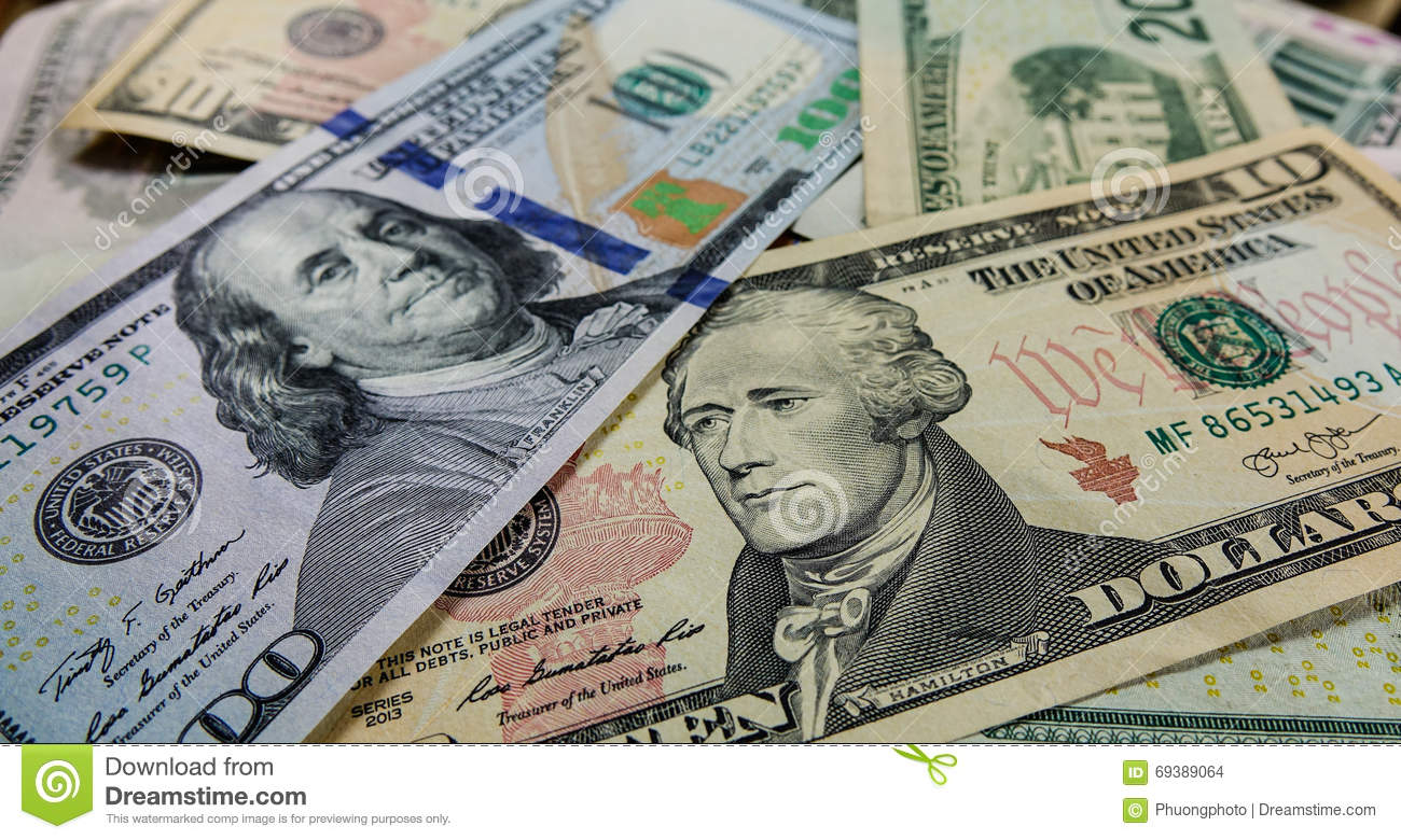 US Dollar notes stock photo  Image of currency, dollar - 69389064