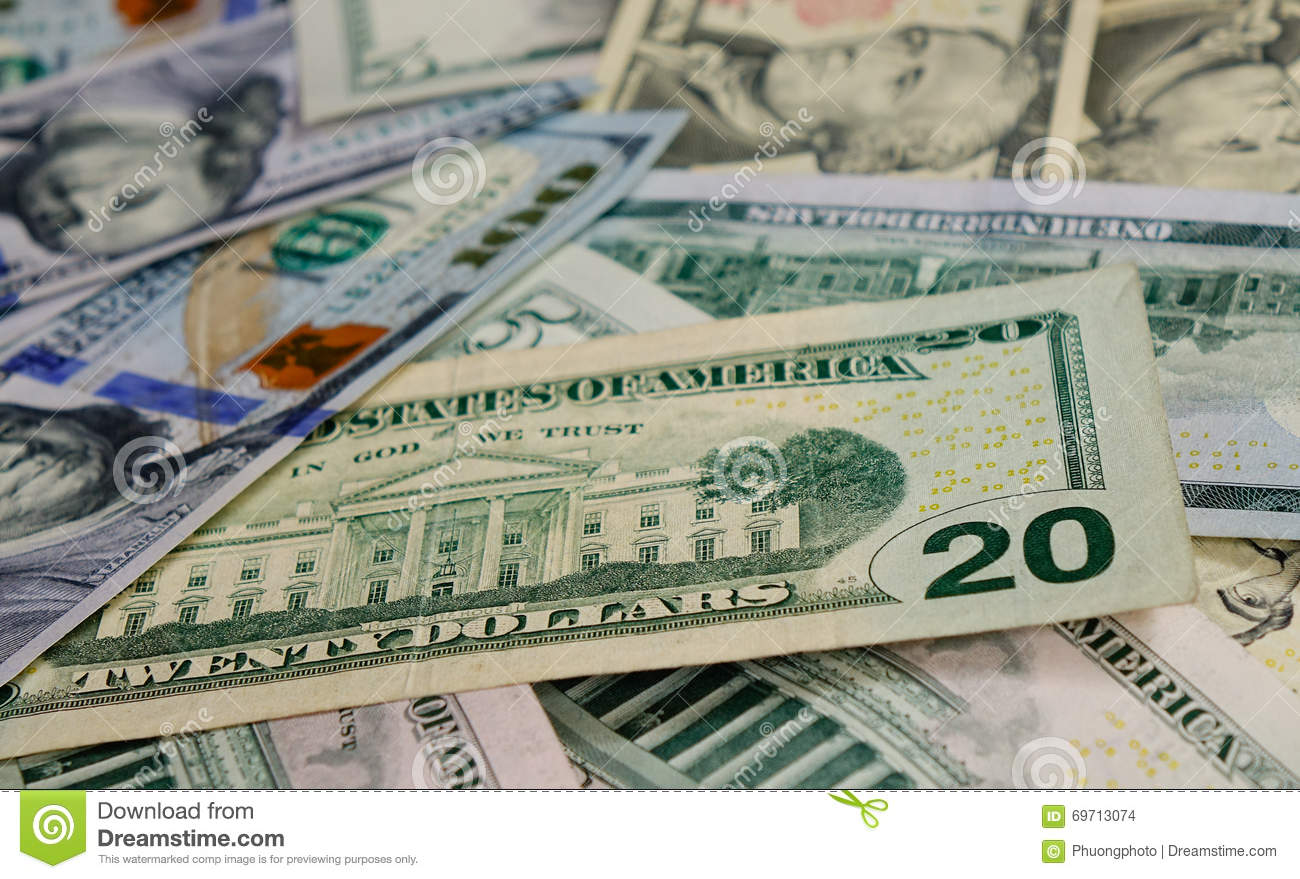 US dollar notes stock photo  Image of currency, money - 69713074