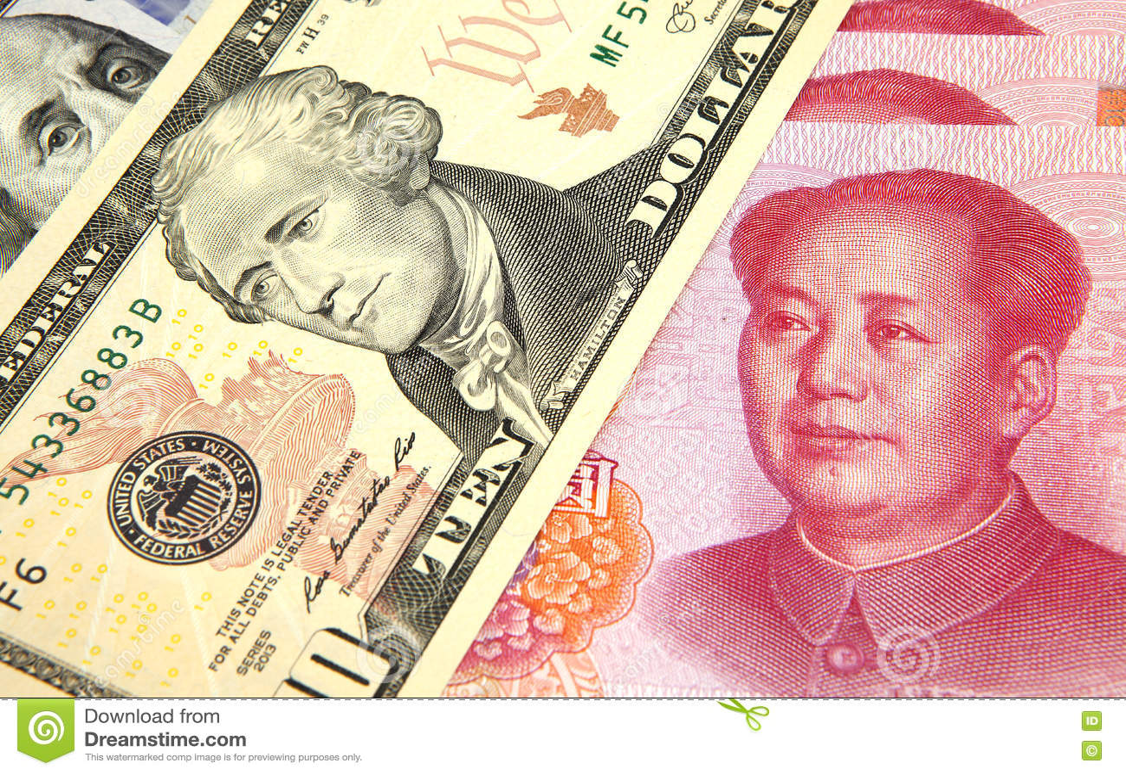 Us dollar vs chinese rmb stock photo image of photography 76562738 us dollar vs chinese rmb biocorpaavc Gallery