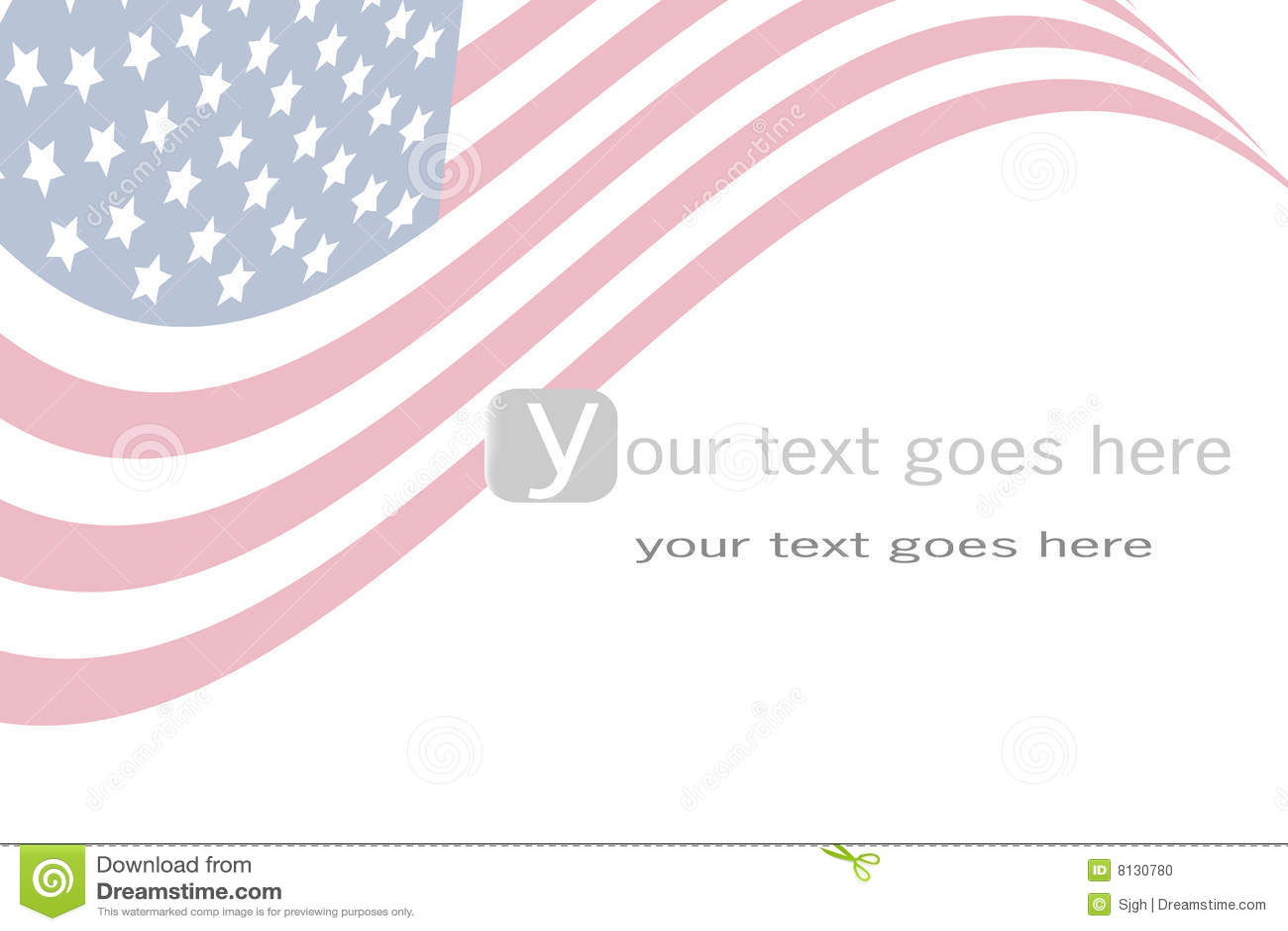 Us flag background stock vector  Illustration of patriotism - 8130780