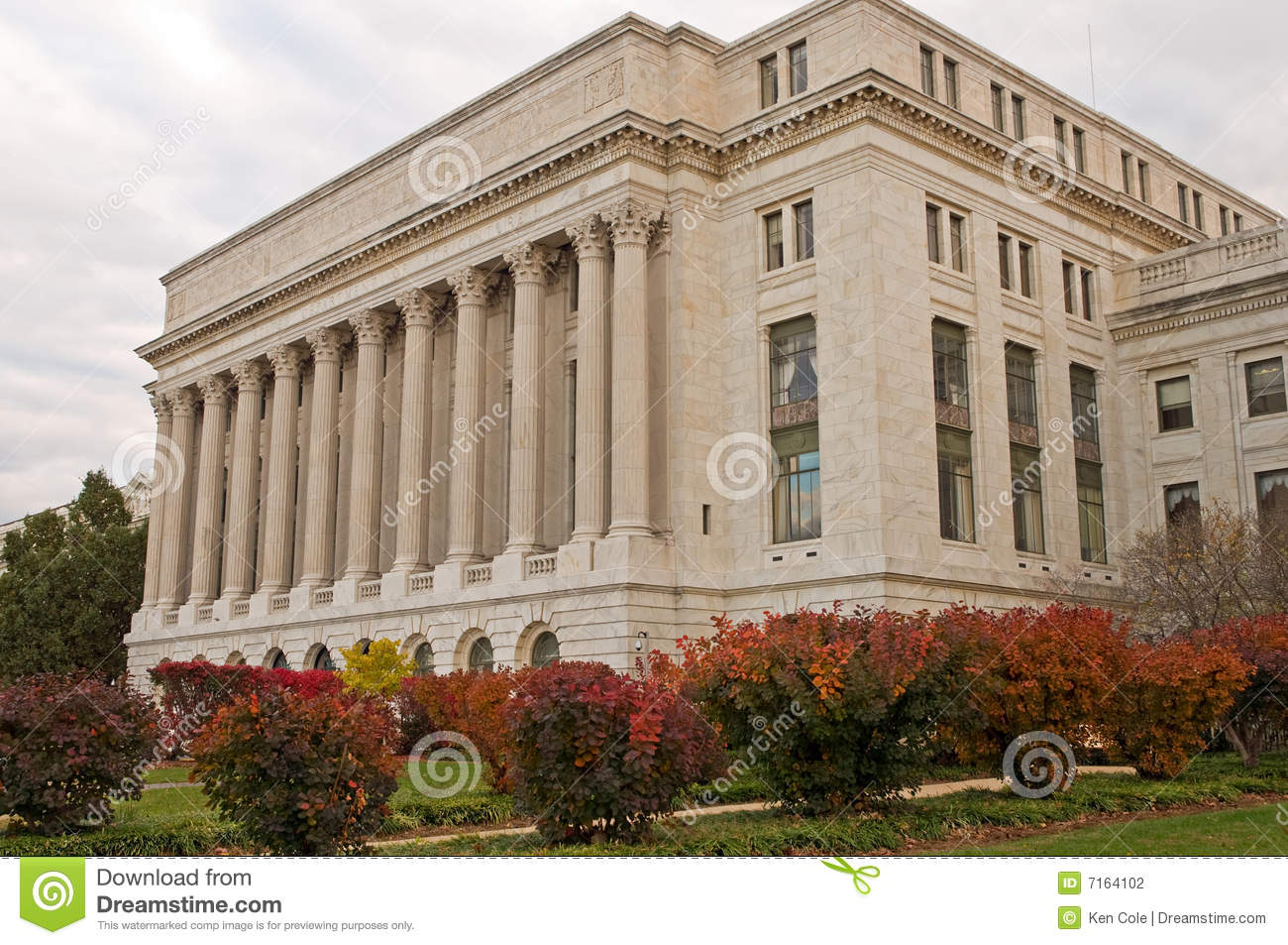Us government building stock photography image 7164102 for Department of interior jobs washington dc