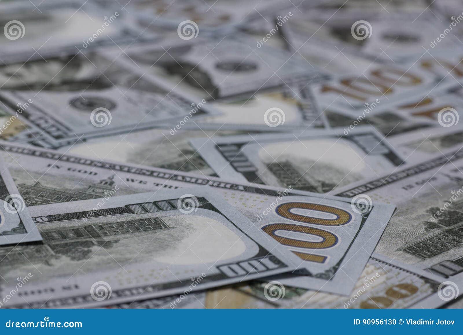 US hundert Dollar-Banknoten