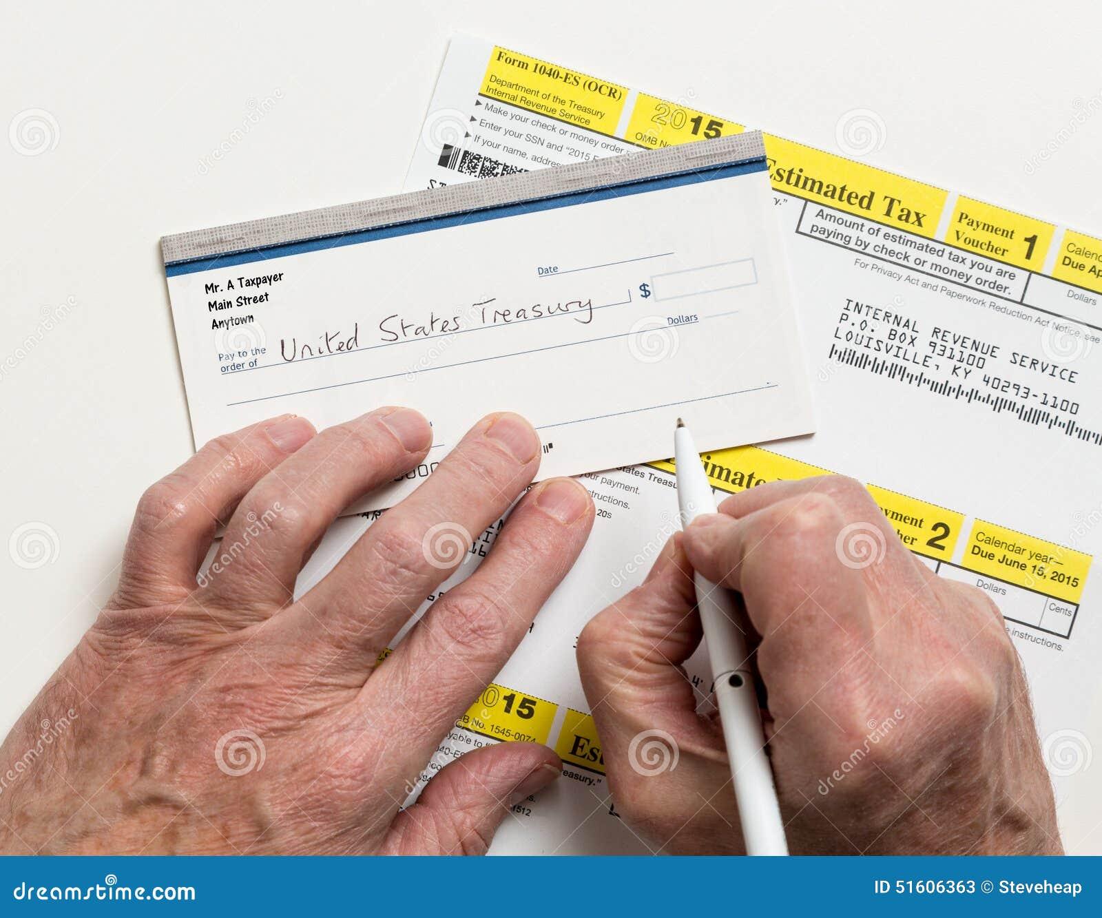 Us irs tax form 1040 es editorial stock photo image of part us irs tax form 1040 es falaconquin