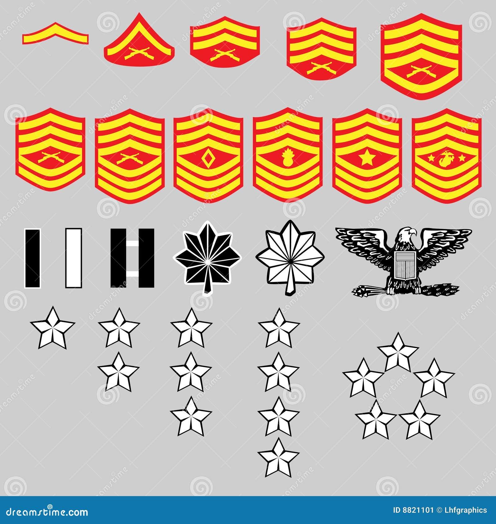Us marine corps insignia stock vector illustration of medal 24173533 us marine corp rank insignia stock image buycottarizona Image collections