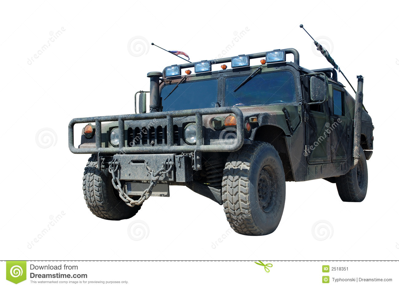 US Military Truck Hummer H1 Stock Image - Image: 2518351