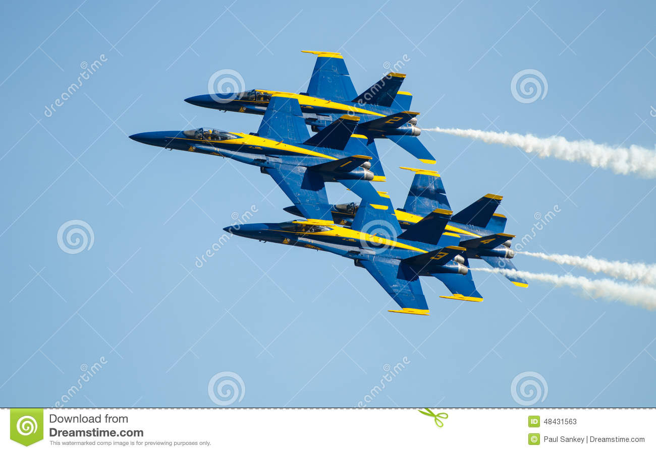 US Navy Blue Angels Airshow